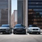 Volvo XC60, Volvo XC90 y Volvo XC40